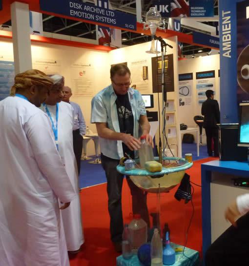 Waterdrum-at-Cabsat-Dubai-2012-2